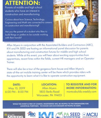 Manufacturing & Construction Career Info Session