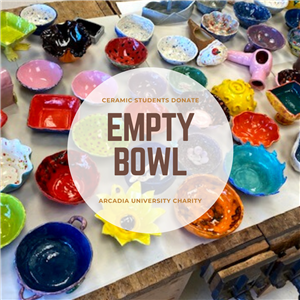 Cheltenham Ceramics Students Donate Artwork to Empty Bowl Charity Event