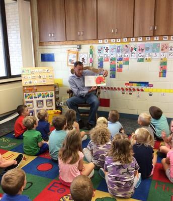 Guest Readers at Rockbrook ECC