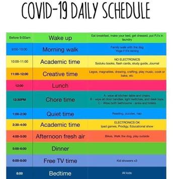 Make.a Daily Schedule