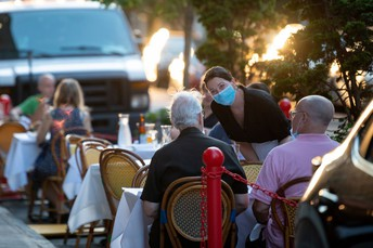 Temporary Outdoor Dining Process Approved