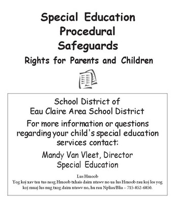 Special Education Procedural Safeguards