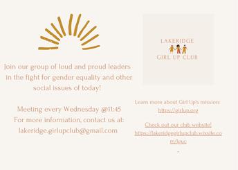 Girl Up Club