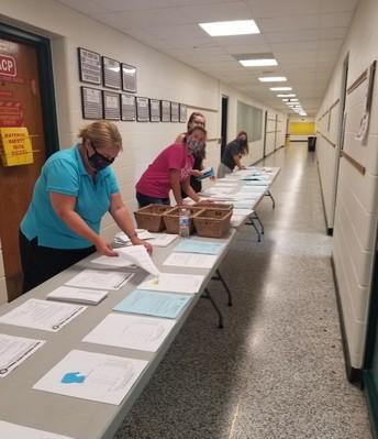 Getting envelopes ready!