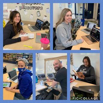 SAA Teachers teaching online classes