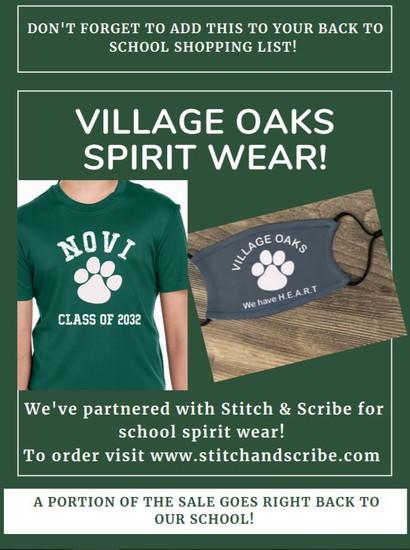 VO Spirit Wear Poster