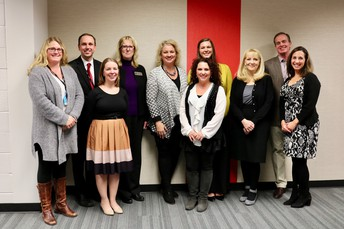 Those Who Excel winners honored by Board
