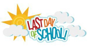 May 28th - last day of school for grades 5K-5th - release times