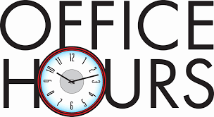 Office hours are for students and/or parents