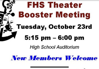 Theater Booster Meeting