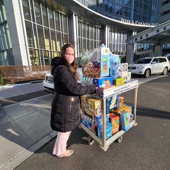 Snacks for Hospital Workers