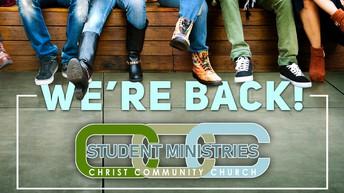 Sunday Youth Ministry Resumes on Nov. 8!
