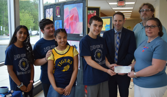 Tamanend Game Show Students Donate Winnings to Non-Profit