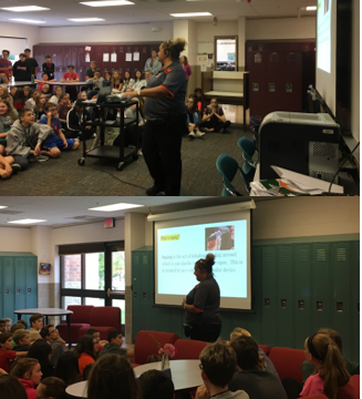 Student Resource Officer (SRO) Detective Bridget McCowan Presents Dangers of Vaping