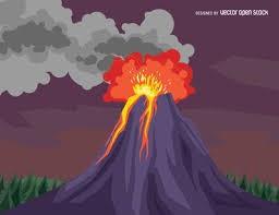 3rd Grade Volcano Showcase