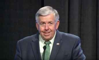 View Missouri's 57th Governor, Mike Parson, as he addresses the 57th Annual Cooperative Administrators Conference.  Click on picture.