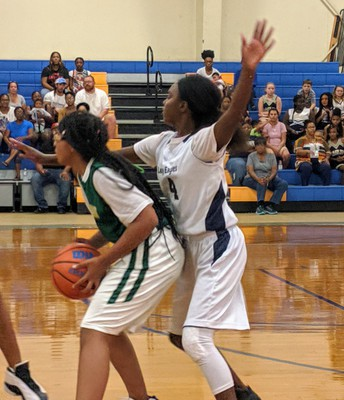 Keyonna Mebane (#4) - Tight Defense