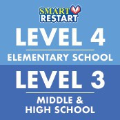 level 4 elementary school, level 3 middle and high school