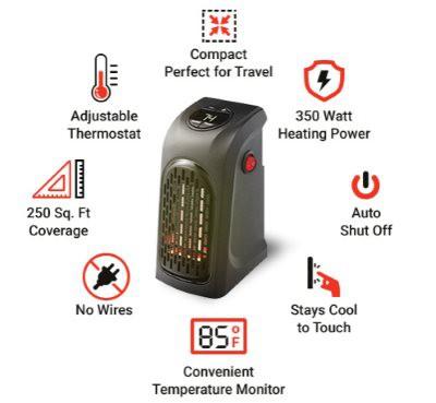 Zen Heater Personal Heater