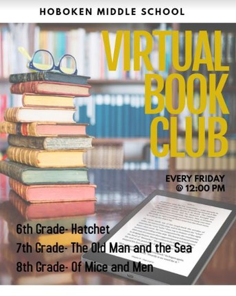 8th Grade Virtual Book Club - Of Mice and Men, by John Steinbeck