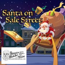 Santa on Sale Street