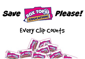 Box Tops of Education