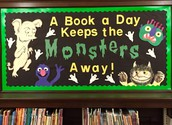 A Book a Day Keeps the Monsters Away!