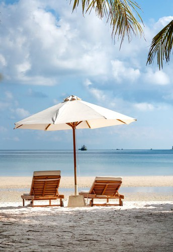 Beach Vacation or Amusement Park