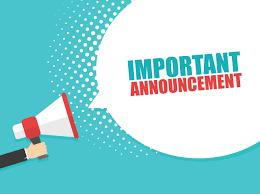 School Restart Announcements
