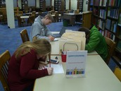 Quiet Coloring Station Now in the Library