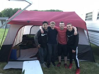 Camping in Cedar Lake, MI