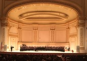 Bel Canto Choir at Carnegie