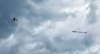 Flyover congratulations