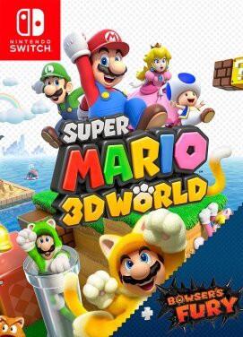 Super Mario 3D game cover