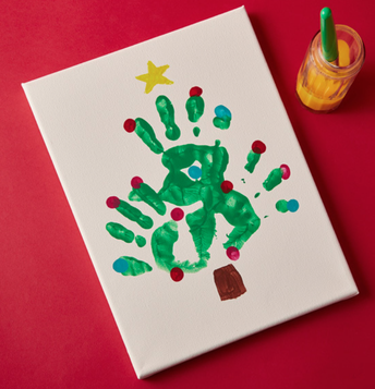 24 Days of Merry Making Online: Christmas Tree Paintings