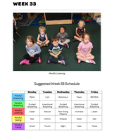 Mindful Classrooms--Week 33