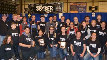 Poway HS Robotics Wins in Canada