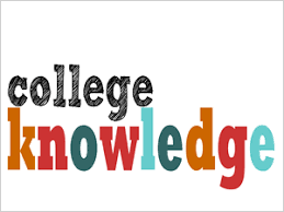College Knowledge Month October Plan