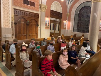 2ND GRADE FIRST RECONCILIATION