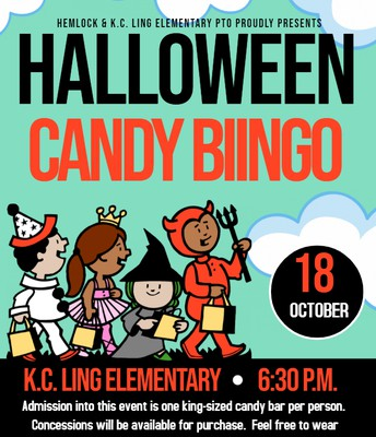 Candy Bingo - October 18th
