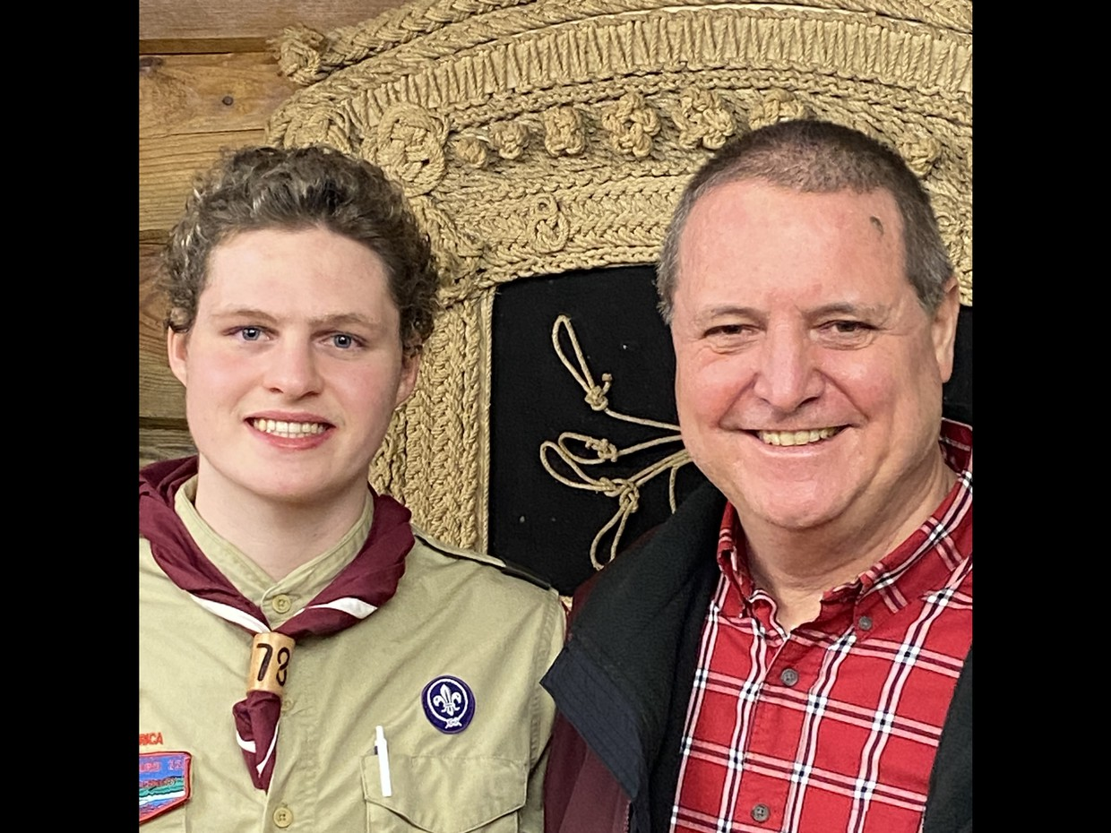 Congratulations Senior J.P. Cronauer on earning the rank of Eagle Scout!!!