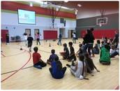 5th Grade PE at Richter