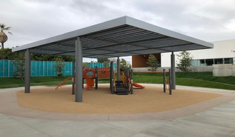 View of the Early Childhood play area