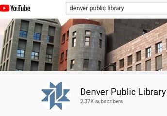 Denver Public Library YouTube Channel