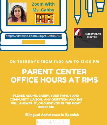 New information about virtual office hours