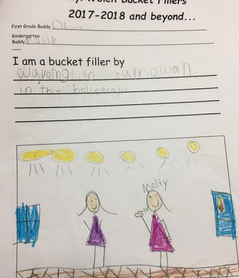 KINDER-GARTEN BUCKET FILLER BOOKS