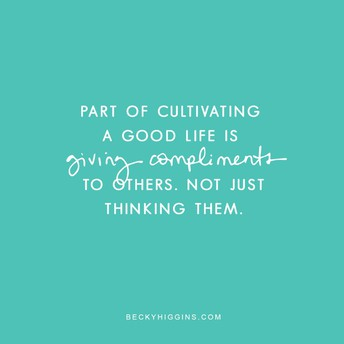 Star Power Word of the Month: Compliment