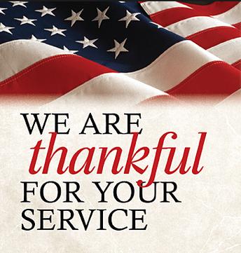 Veterans Day Celebration ~ Nov. 8