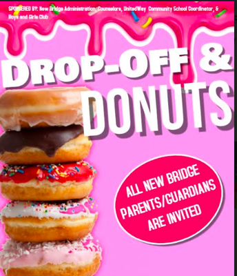 Drop-Off & Donuts, Wednesday, January 8