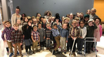 100 years on the 100th Day of School